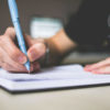 Hand Writing a List, PicJumbo, 9-19